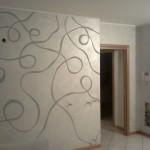 Pittura decorativa parete - Casaplast