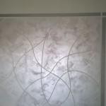 Pittura decorativa dettaglio parete - Casaplast