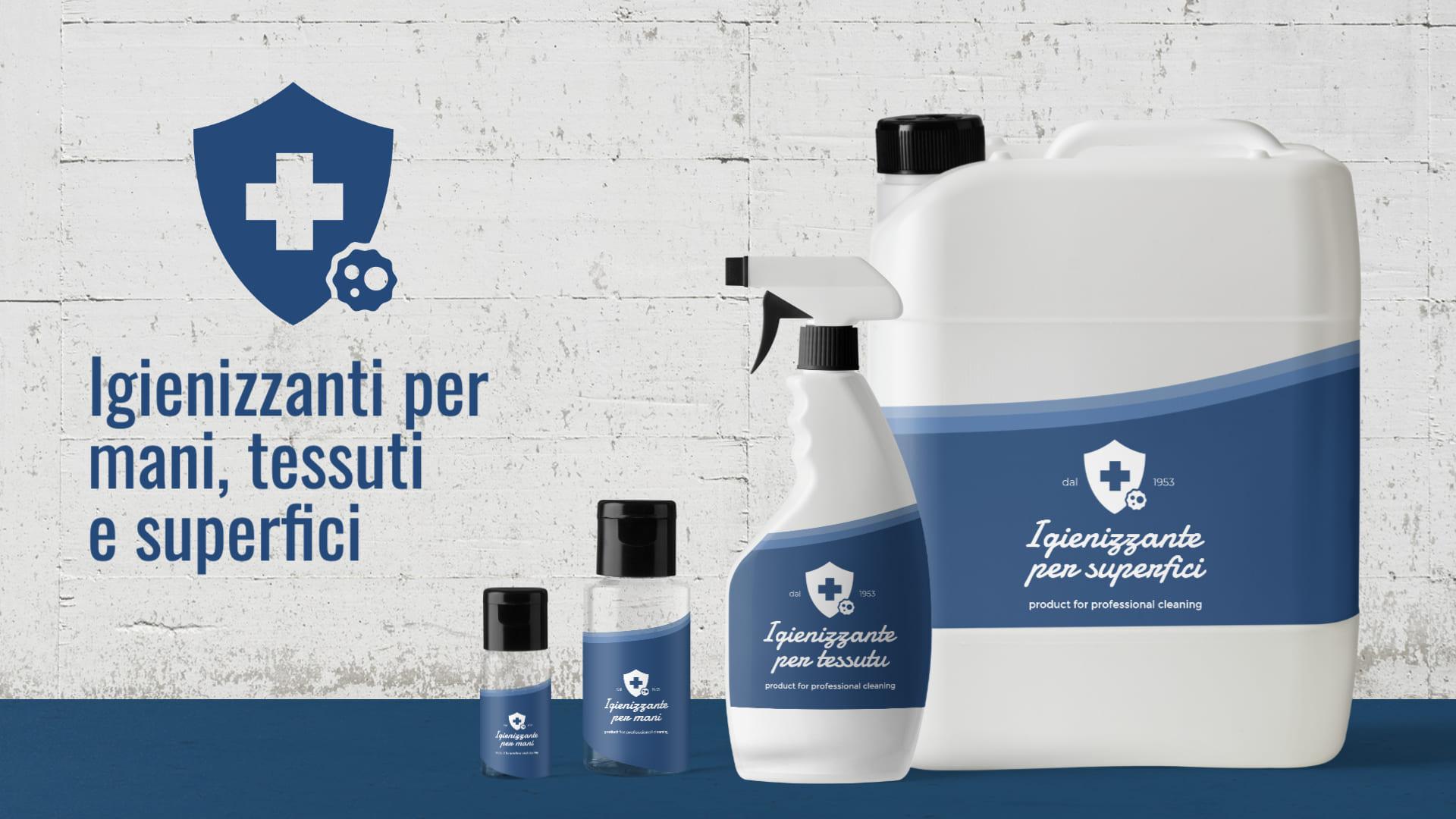 Prodotti igienizzanti - Casaplast